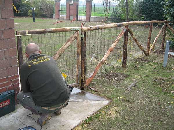 Recinzioni per giardini sassuolo casalgrande posa reti - Recinzioni per giardini ...